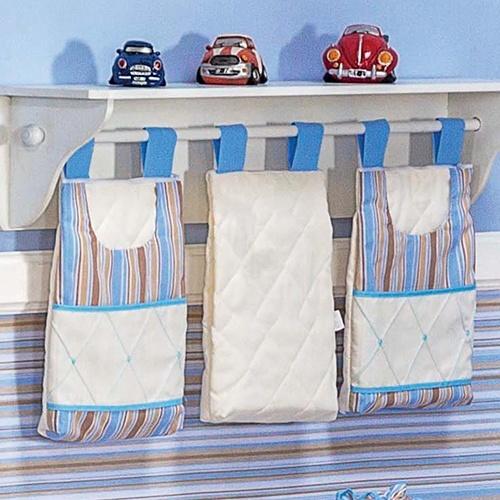 Porta Fraldas Varão Diversão Azul