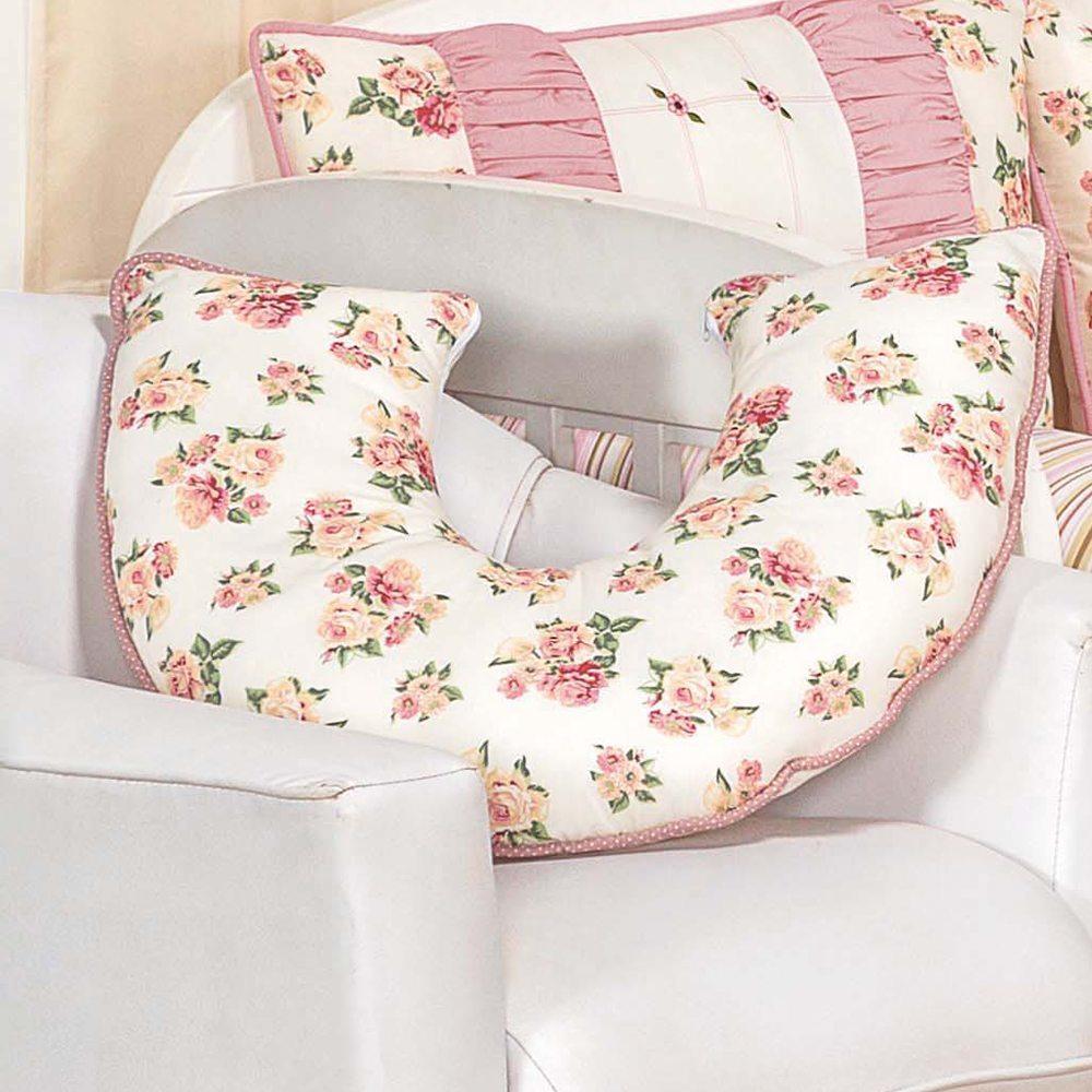 Almofada para Amamentação Drapeado Rosê
