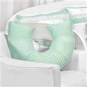 Almofada para Amamentação Elegance Verde