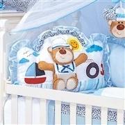 Quarto para Bebê sem Cama Babá Urso Náutico