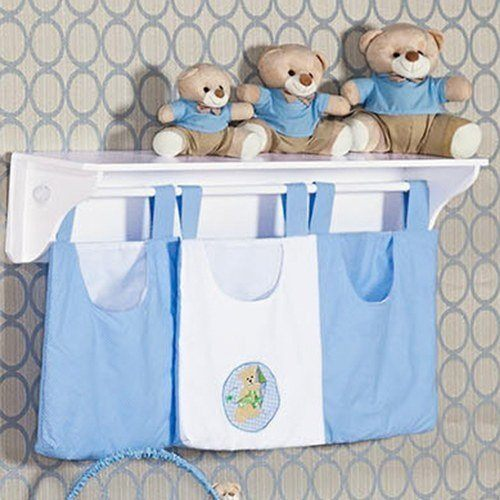 Porta Fraldas Varão Ursos Divertidos