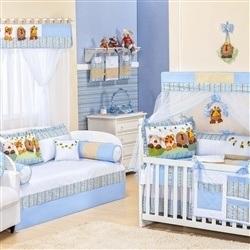 Quarto para Bebê Savana Azul
