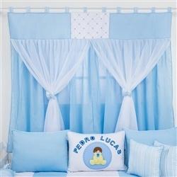 Cortina Meu Bebê Azul