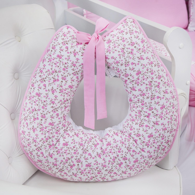 Almofada para Amamentação Minha Bebê Rosa