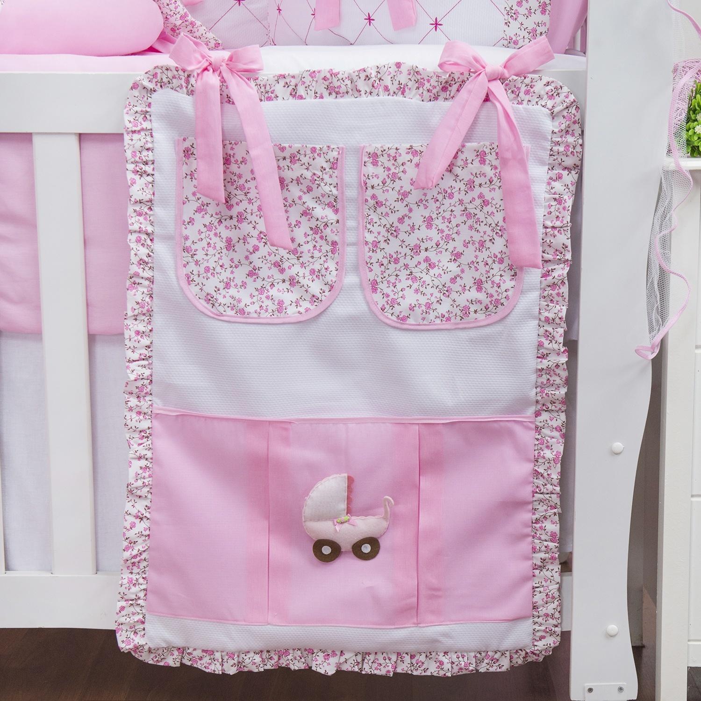 Porta Treco Minha Bebê Rosa