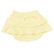 Short Saia Amarelo 3 a 6 Meses
