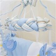 Móbile Passarinhos Azuis