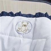 Capa de Bebê Conforto Teddy Marinho