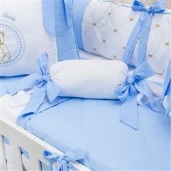 Almofada Apoio Bala Teddy Azul