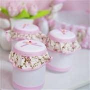 Kit Acessórios Passarinhos Rosa