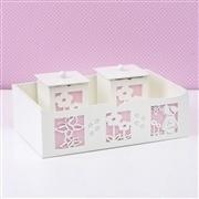 Kit Higiene Completo Camponesa Rosa