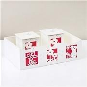 Kit Higiene Camponesa Vermelho
