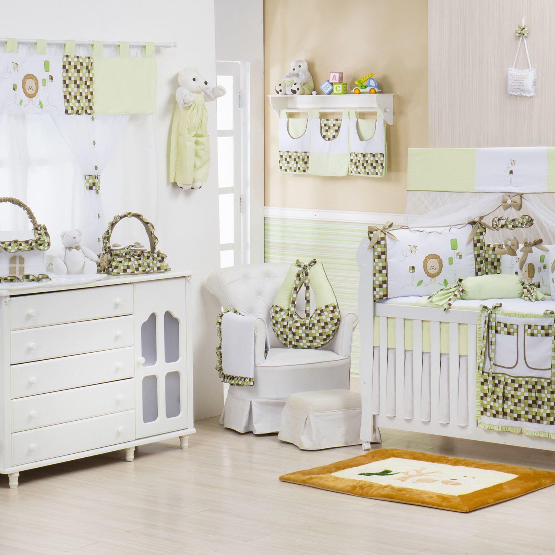 Quarto para Bebê sem Cama Babá Baby Selva