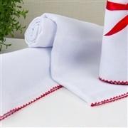 Toalha para Banho Humanizado Vermelha