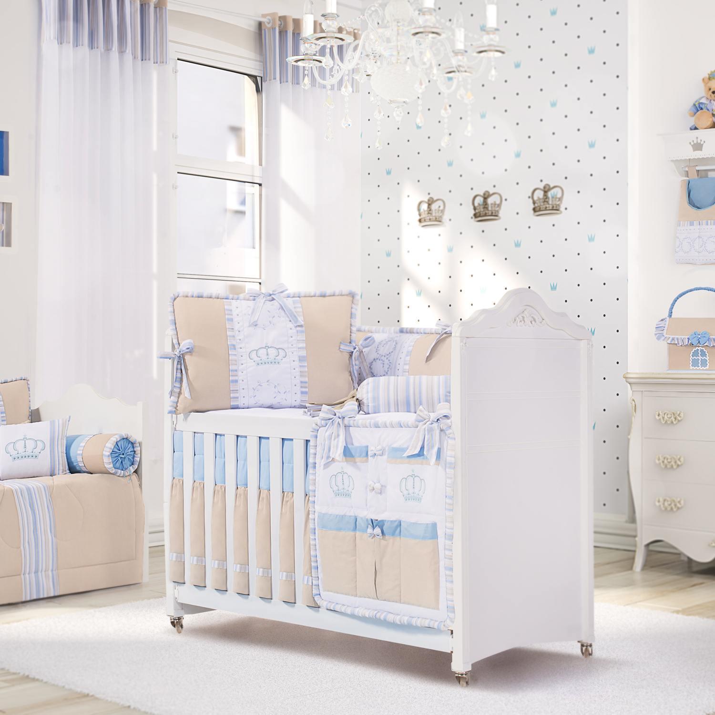 Quarto para Bebê Coroa Azul
