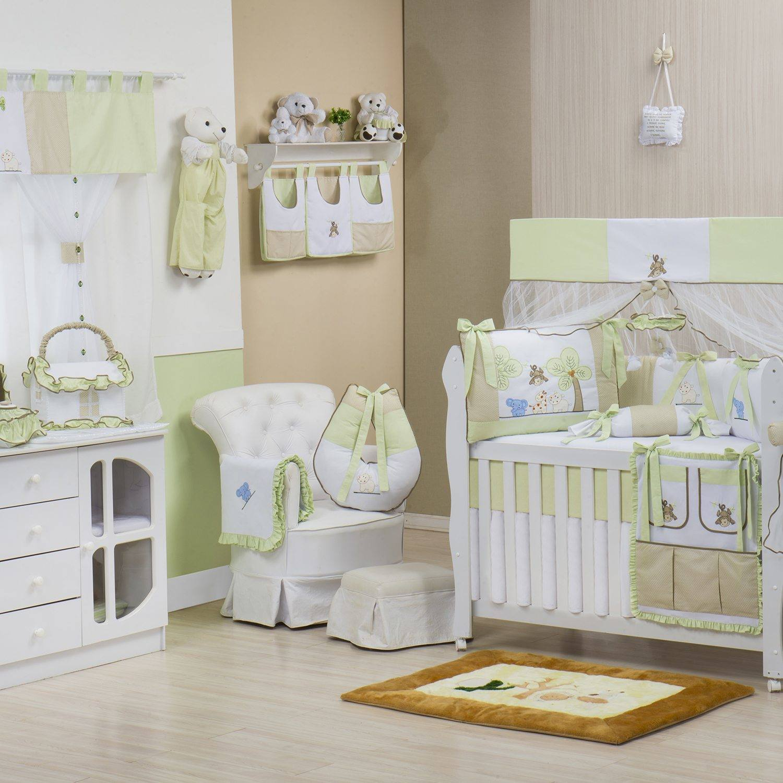 Quarto para Bebê sem Cama Babá Natureza Verde