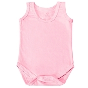 Body Regata Rosa 6 a 9 Meses