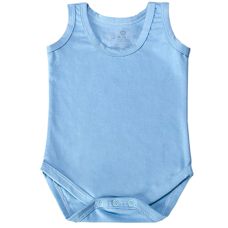 Body Regata Azul 3 a 6 Meses