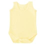 Body Regata Amarelo Recém-Nascido a 3 Meses