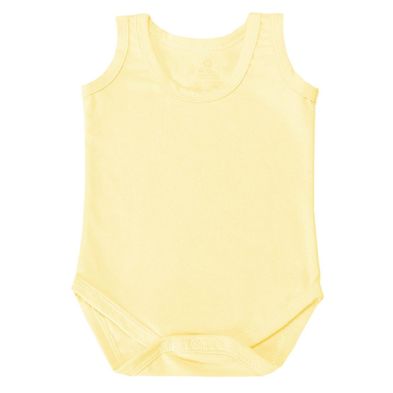 Body Regata Amarelo 9 a 12 Meses