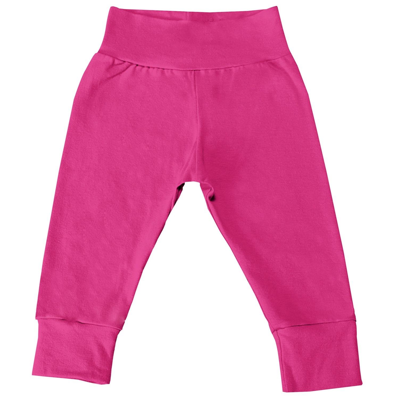 Mijão com Cós Alto e Pé Reversível Pink 3 a 6 Meses