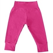 Mijão com Cós Alto e Pé Reversível Pink 12 a 15 Meses