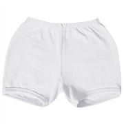 Shorts Branco 3 a 6 Meses