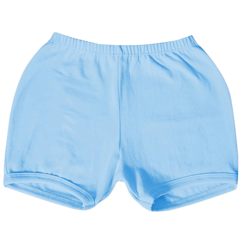 Shorts Azul 3 a 6 Meses