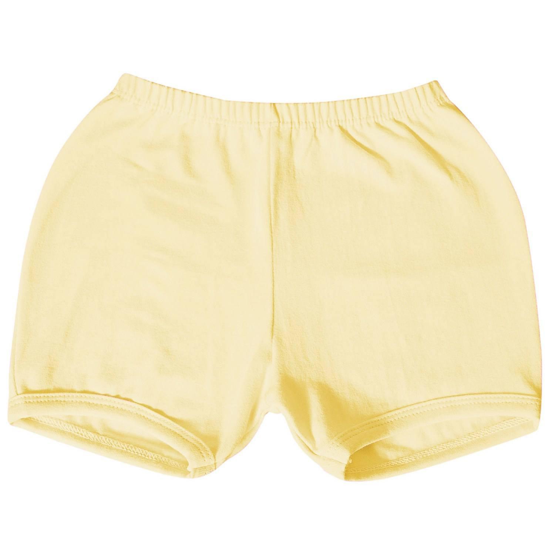 Shorts Amarelo 12 a 15 Meses