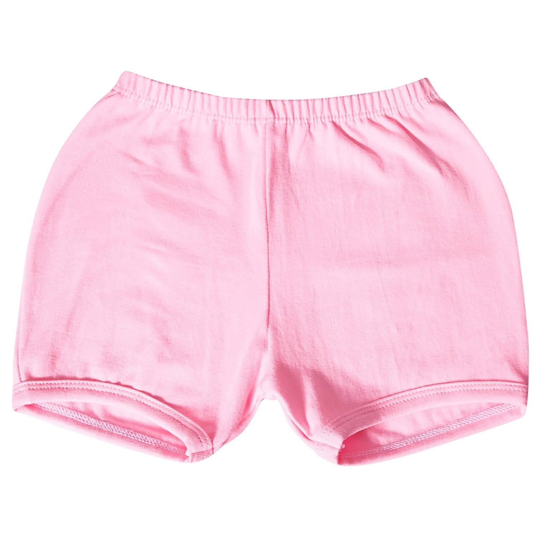 Shorts Rosa 9 a 12 Meses