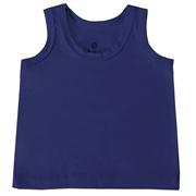 Camiseta Regata Marinho 6 a 9 Meses