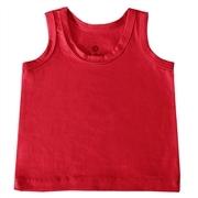 Camiseta Regata Vermelho 12 a 15 Meses