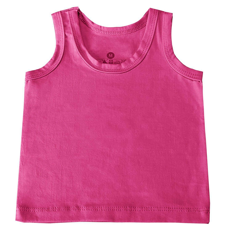 Camiseta Regata Pink 9 a 12 Meses