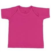 Camiseta Manga Curta Pink Recém-Nascido a 3 Meses