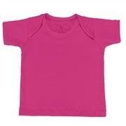 Camiseta Manga Curta Pink 3 a 6 Meses