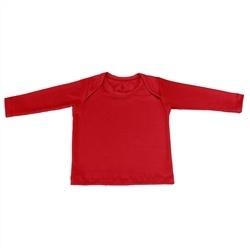 Camiseta Manga Longa Vermelho 3 a 6 Meses