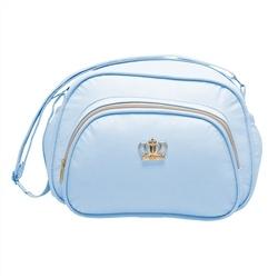 Bolsa P Maternidade Arabesco Azul