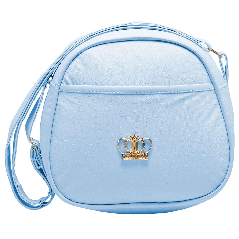 Frasqueira Térmica Maternidade Arabesco Azul