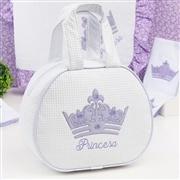 Bolsa Maternidade Princesinha Lilás