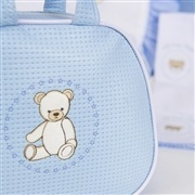 Bolsa Maternidade Teddy Azul