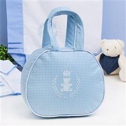 Bolsa Maternidade Realeza Azul
