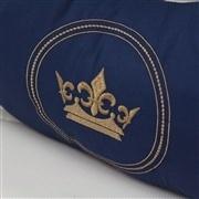 Almofada para Amamentação Coroa Brasão Marinho
