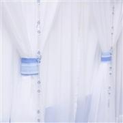Cortina Veleiro Azul Claro