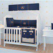Quarto para Bebê Realeza Marinho Premium