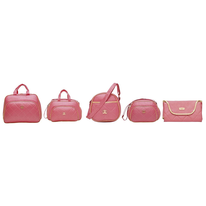 Conjunto de Bolsas Maternidade Colors Pink