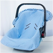 Capa de Bebê Conforto Nobreza Azul