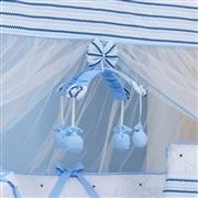 Kit Berço Retrô Azul