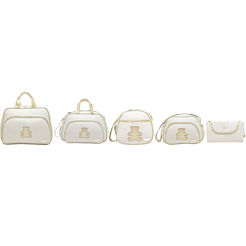 Conjunto de Bolsas Maternidade Fofura Marfim