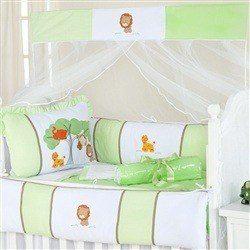 Kit Berço Reino Encantado Verde