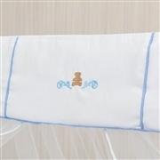 Kit Berço Urso Escudo Azul